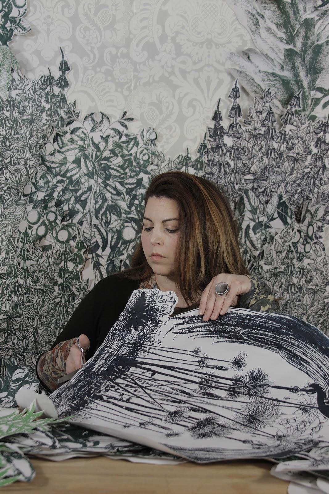 ONLINE Meet the Artist + Collage Activity: Rachel Sydlowski at Dyckman Farmhouse Museum Alliance