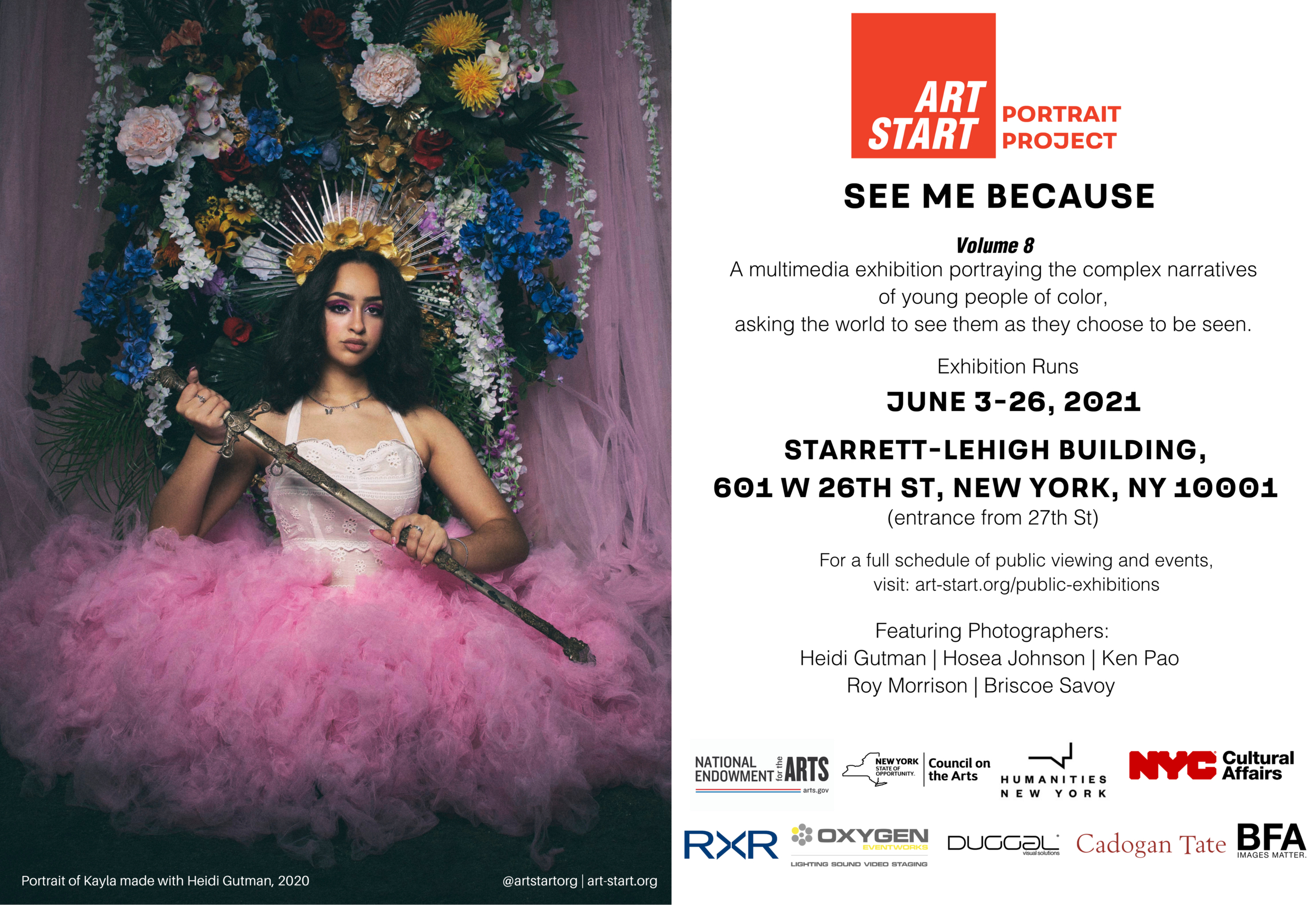 Art Start: See Me Because Vol 8 at Starrett-Lehigh