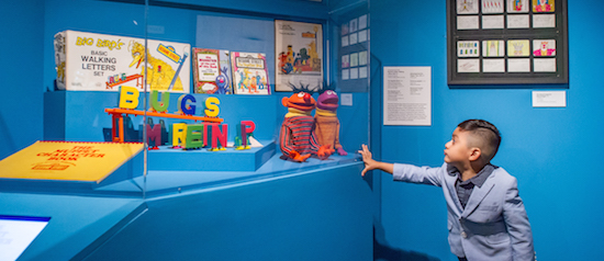 Exploring Sesame Street with Silly Willy & Friends at MUSEUM OF THE MOVING IMAGE