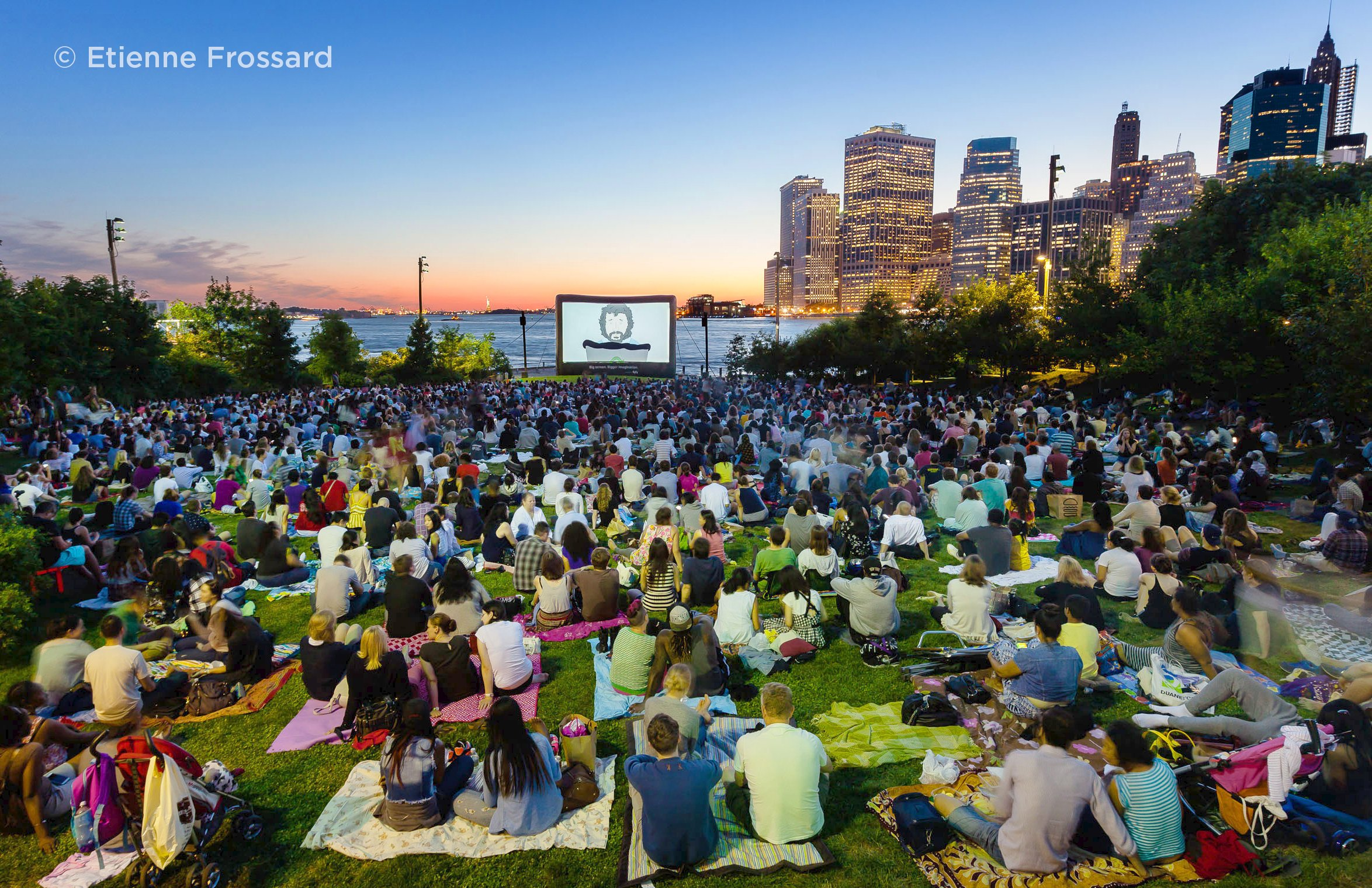 Movies With A View: Akeelah and the Bee at Brooklyn Bridge Park