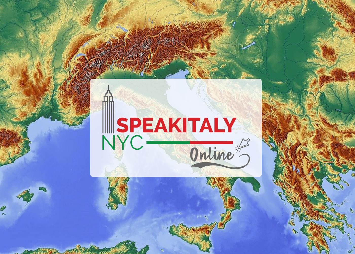 Italian Art and Geography (Summer Edition) at Speakitaly NYC