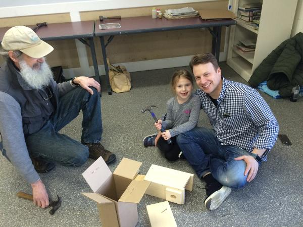 Bird House Building Workshop at Greenwich Audubon Center