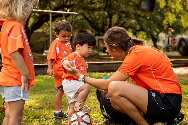 Free Clinic - Soccer class for children 2 years old at Cedar Creek Park
