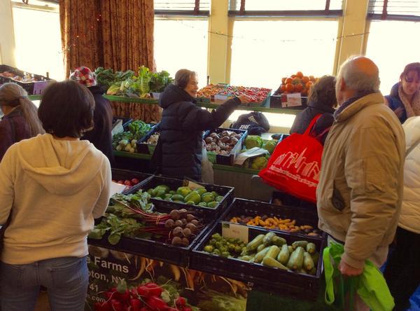 Palisades Winter Farmers' Market at Palisades Community Center