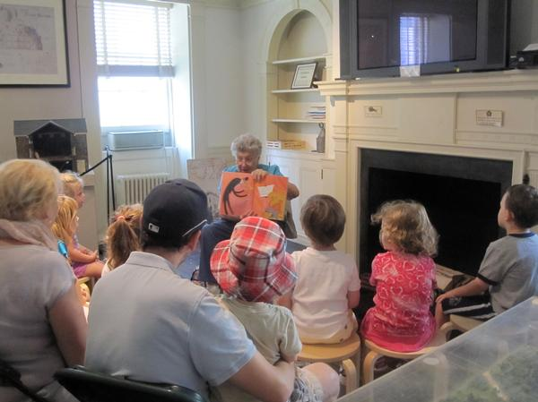 All About Families Storytime at Mount Vernon Hotel Museum & Garden