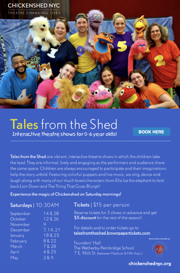 Tales from the Shed at Founders' Hall The Wetherby-Pembridge School