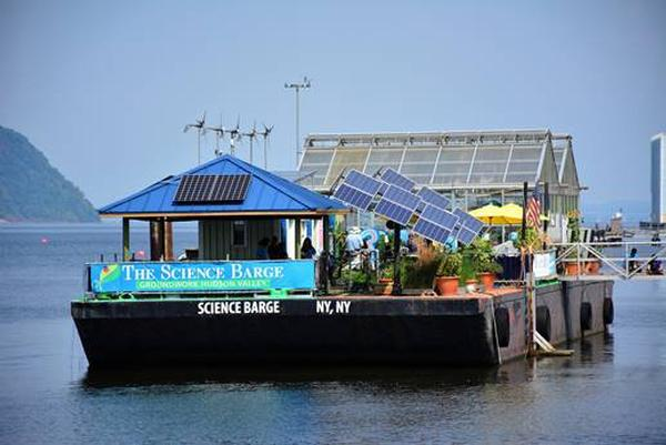 Art & Science Sundays at The Science Barge