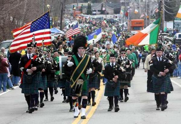 Northern Westchester-Putnam Saint Patrick's Day Parade at Mt. Hope Road