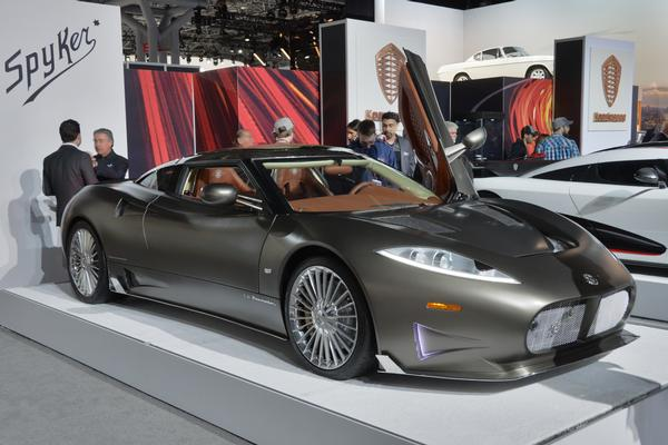 The New York International Auto Show at Javits Convention Center