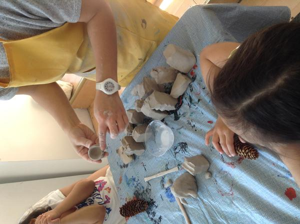 Intro to Air-Dry Clay at Blue Door Art Center