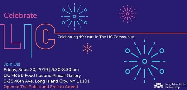 Celebrate LIC at LIC Flea & Food and Plaxall Gallery