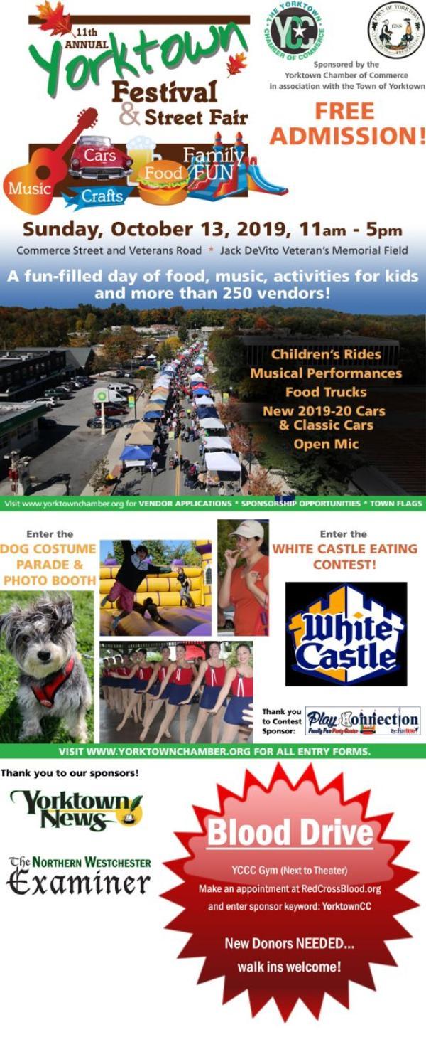 Yorktown Festival & Street Fair at Jack Devito Veterans Memorial Field