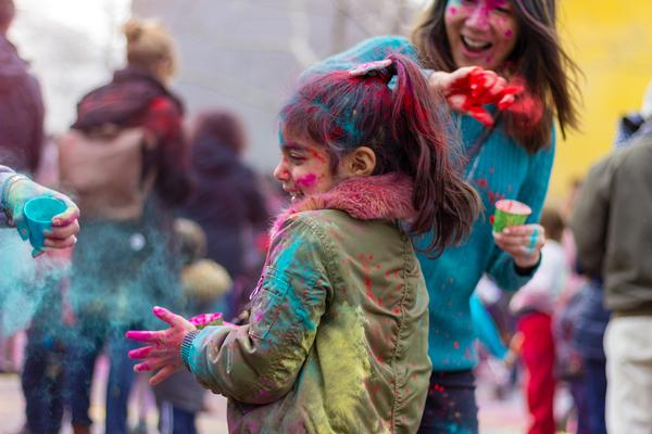 Holi Hooray at Brooklyn Children's Museum