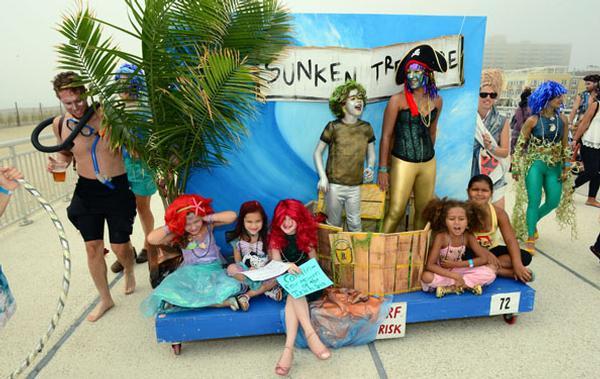 Poseidon's Parade at Rockaway Beach Boardwalk