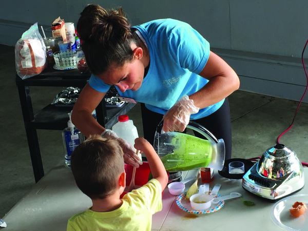 Kids' Kitchen at Mid-Hudson Children's Museum
