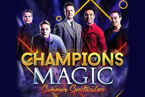 Champions of Magic: Summer Spectacular at Mayo Performing Arts Center