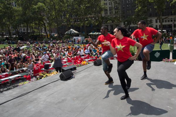 106.7 LITE FM's Broadway in Bryant Park at Bryant Park