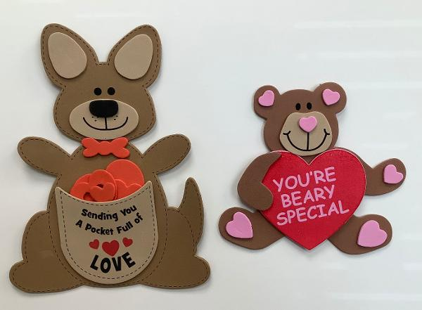 Valentine's Day-Themed Crafternoon at Emma Clark Library