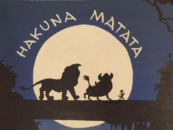 'Lion King' Paint Event: Hakuna Matata! at Key to My Art East Rockaway