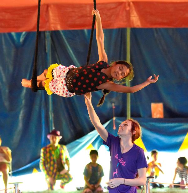 Open House and Circus Show at Harvey Cavalier Camp