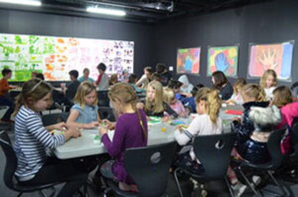 Unity Quilt Sewing Day at Hudson Valley Museum of Contemporary Art