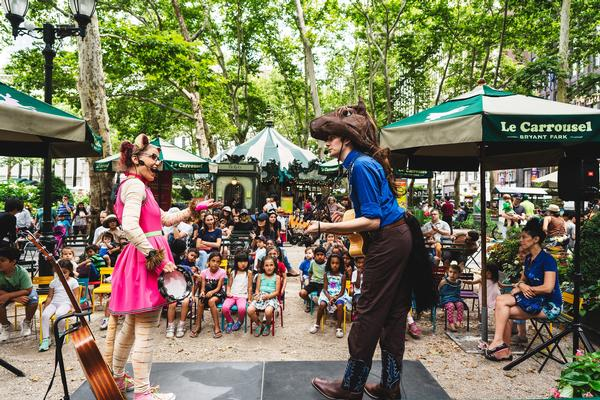 Le Carrousel StoryTime at Bryant Park Carousel