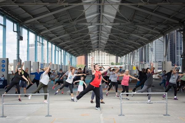 Waterfront Workouts: Broadway Dance at Brooklyn Bridge Park, Pier 2