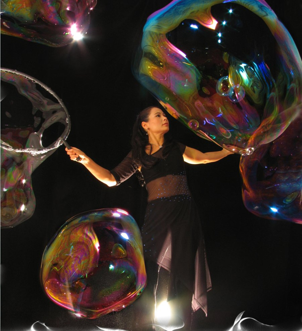 Gazillion Bubble Show at New World Stages / Stage 2
