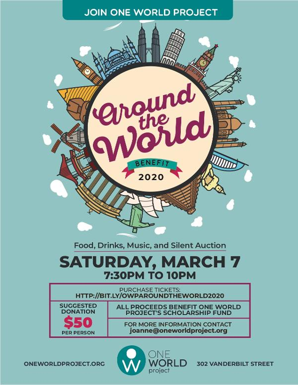 OWP Around the World Benefit at One World Project