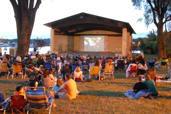 Cinema on the Bay at Sunset Park