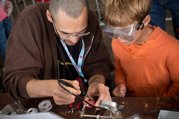 Maker Space Friday at New York Hall of Science