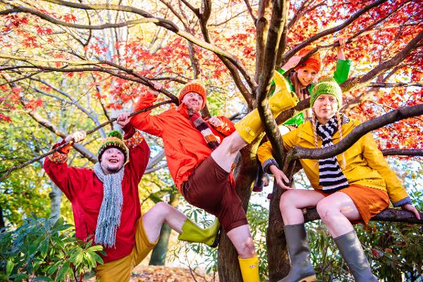 CANCELED: FOUR GO WILD IN WELLIES at New Victory Theater