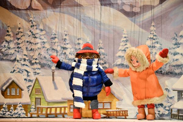 Yeti, Set, Snow! - Autism Friendly Show at Swedish Cottage Marionette Theatre in Central Park