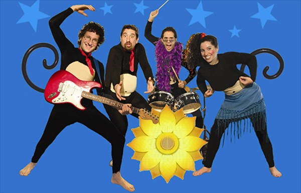 Family Concert: The FunkeyMonkeys at The Jewish Museum