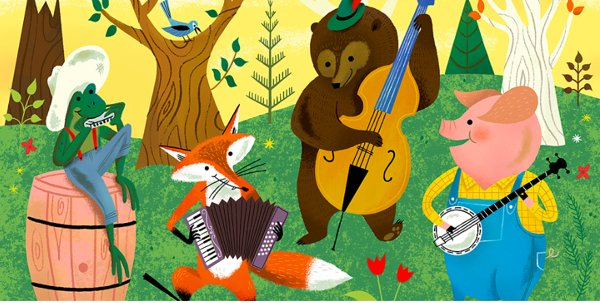Mozart for Munchkins Presents Our Musical Wilderness at Gelsey Kirkland Academy of Classical Ballet