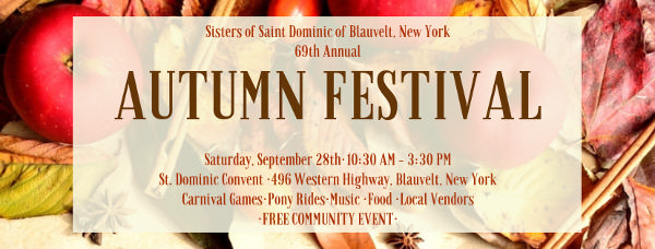 69th Annual Autumn Festival at Sisters of St. Dominic of Blauvelt, NY Motherhouse