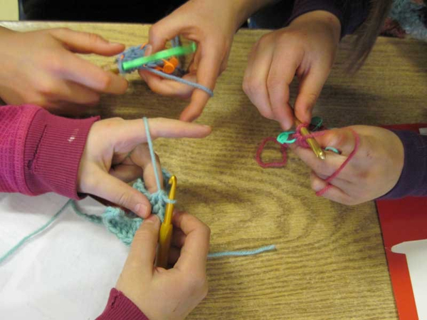 Crochet Club for Kids at Floral Park Library