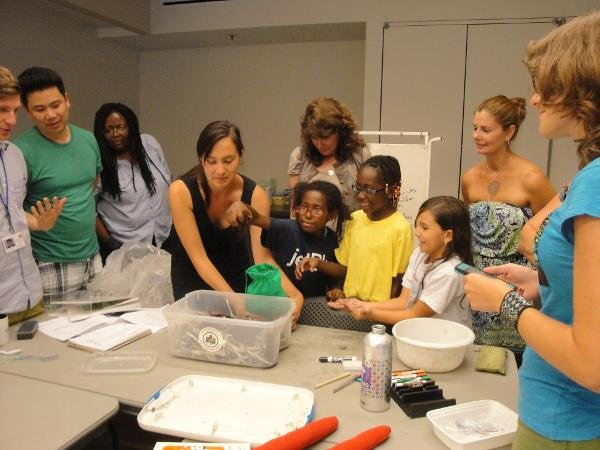 Mid-Winter Break Family Programs: I Heart Worms at Queens Botanical Garden