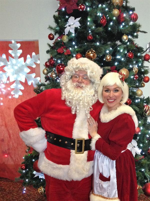 Brunch with Santa at Westchester Broadway Theatre