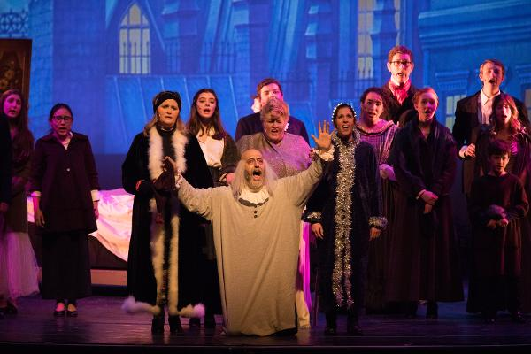 A CHRISTMAS CAROL presented by bergenPAC at Bergen Performing Arts Center