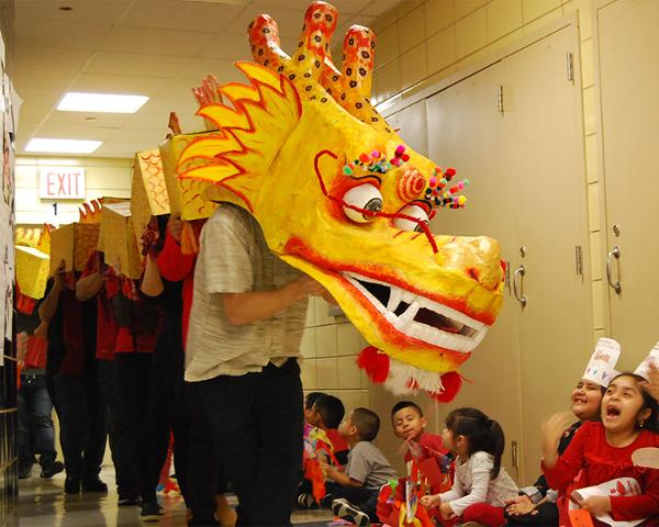 Lunar New Year Tradition: Puppet Making & Dragon Walk at Flushing Town Hall