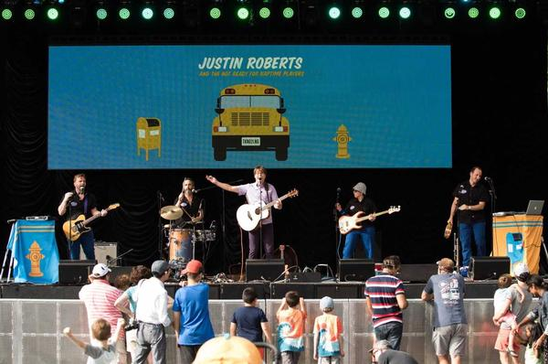 SummersStage FamilyDay: They Might Be Giants and Bill Childs at Rumsey Playfield
