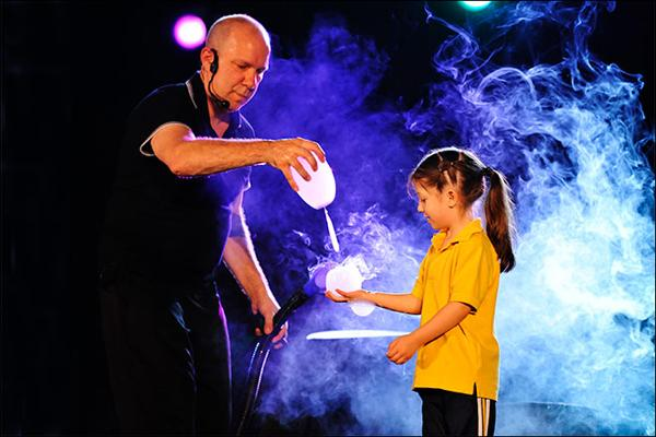 Jeff Boyer's Big Bubble Bonanza at Mayo Performing Arts Center