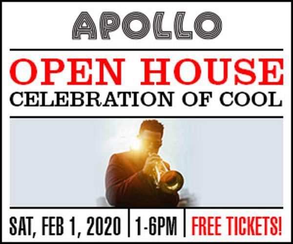Apollo Open House 2020: Celebration of Cool & For the Cool Kids at Apollo Theater