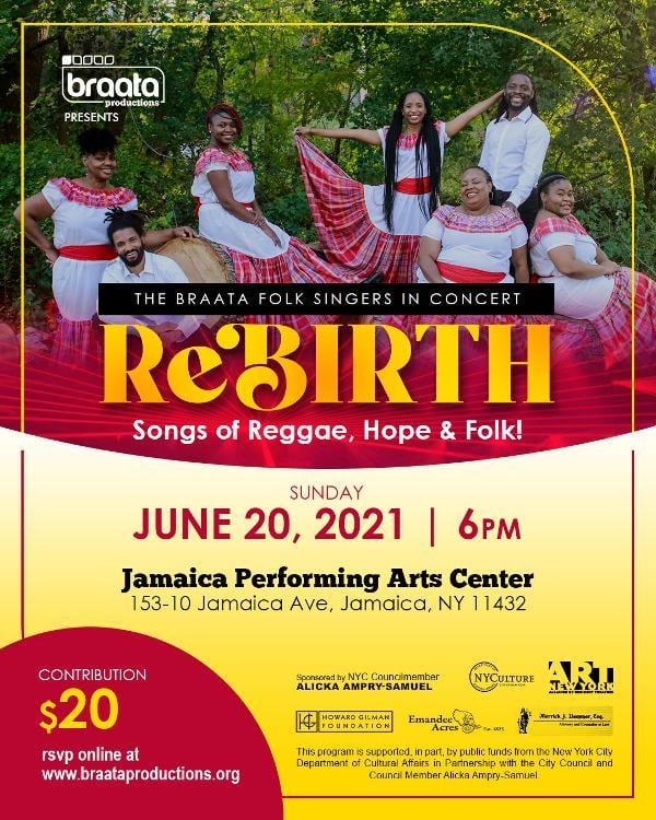 Braata Folk Singers Concert at Jamaica Performing Arts Center