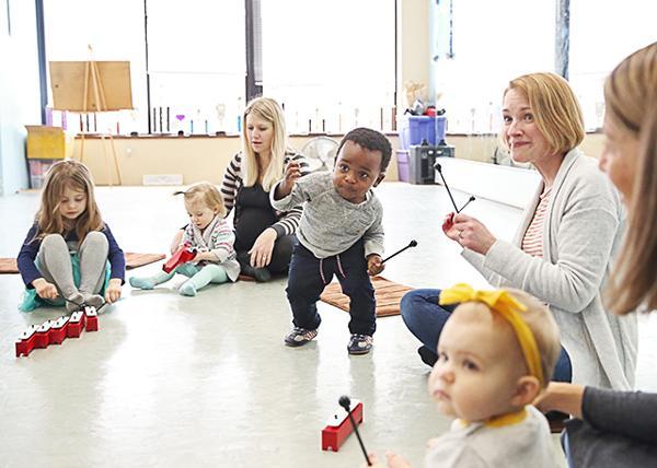 Music & movement for your baby - toddler - preschooler! at AllStar Dance Academy
