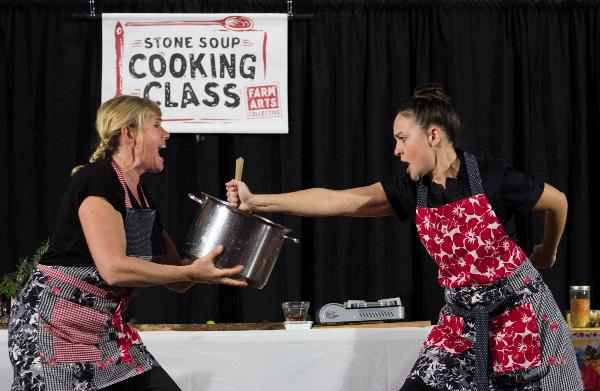 Stone Soup Cooking Class at Bernie Wohl Center