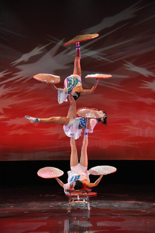 NEW SHANGHAI CIRCUS at Bergen Performing Arts Center