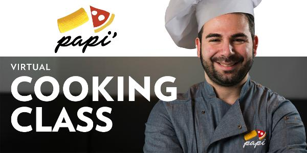 ONLINE Learn the art of making Pinsa with Papi'! at Papi