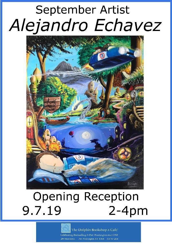 Children's Illustrator Art Opening at The Dolphin Bookshop